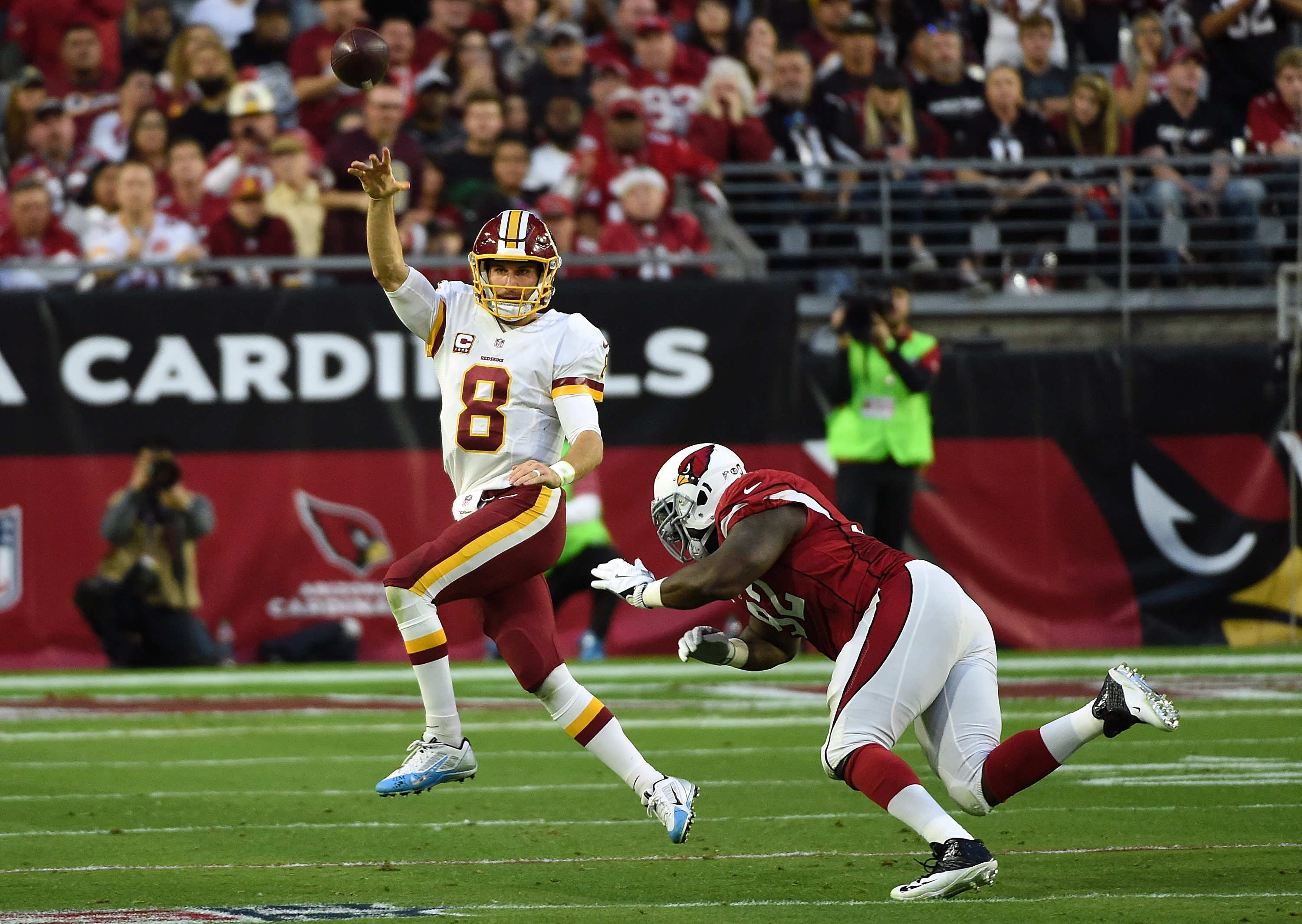 Five takeaways from the Redskins' narrow win over the Cardinals